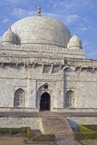 Ancient Islamic Tomb. Of Hoshang Shah in Mandu, Madya Pradesh. White marble building. 15th Century AD Royalty Free Stock Photos