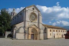 Ancient italian abbey Royalty Free Stock Photos