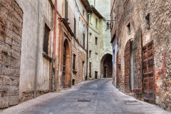 Ancient Italian alley Royalty Free Stock Image