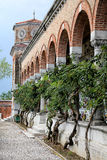 Ancient italian cemetery Stock Photos