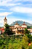 Ancient Italian city Royalty Free Stock Photography