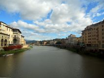The ancient italian city Florence is the architecture magic for the whole world royalty free stock photo