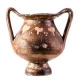 Ancient Italian kantharos royalty free stock photos