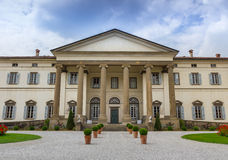Ancient Italian villa royalty free stock image