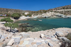 Ancient Itanos area at Crete island, Greece Stock Photography