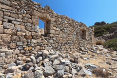 Ancient Itanos area at Crete island, Greece Stock Images