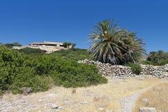 Ancient Itanos area at Crete island, Greece Stock Photography