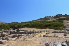 Ancient Itanos at Crete island, Greece Stock Photo
