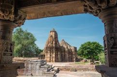 Ancient Jain temple of Bijolia Stock Photography