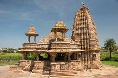 Ancient Jain temple of Bijolia Royalty Free Stock Photo