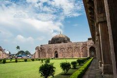 Mandav Mandu Ancient Jama Mosque stock photo