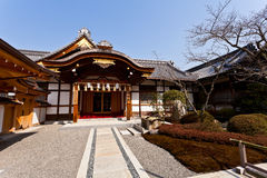 Ancient Japanese building Royalty Free Stock Image