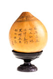 Ancient Japanese gourd Royalty Free Stock Image
