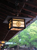 Ancient Japanese Lamp Stock Photography
