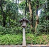 Ancient Japanese lantern Royalty Free Stock Photo