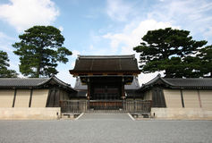 Ancient Japanese Palace Gate Royalty Free Stock Images