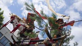 Ancient Japanese samurai shrine. Shot of ancient Japanese samurai shrine Royalty Free Stock Image
