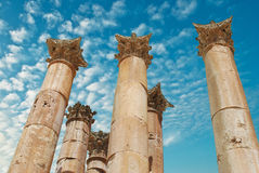 Ancient Jerash Royalty Free Stock Photography