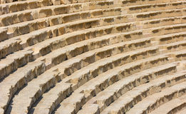 Ancient Jerash Jordan theater steps Stock Images