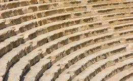 Ancient Jerash Jordan theater steps Stock Images