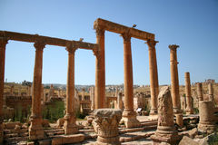 Ancient Jerash. Stock Photography
