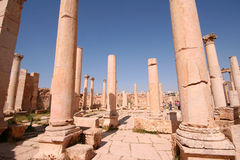 Ancient Jerash Royalty Free Stock Images