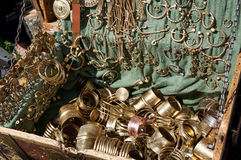 Ancient jewelry box Royalty Free Stock Photo