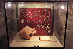 Ancient jewelry Stock Photography