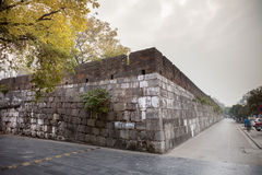 The ancient Jingjiang Princes Palace city wall,Guilin. The Prince Jingjiang was the master of the present prince city. He was given the title by his grandfather Royalty Free Stock Photo