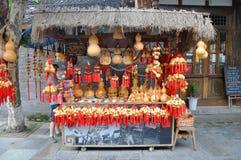 Ancient Jinli Street, Chengdu Stock Image