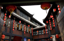 Ancient Jinli Street Chengdu Sichuan China Royalty Free Stock Images