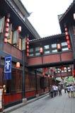 Ancient Jinli Street, Chengdu Stock Photo