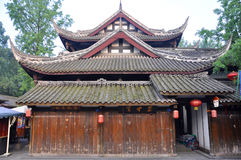 Ancient Jinli Street, Chengdu Stock Photo