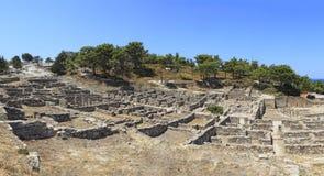 Ancient Kameiros Royalty Free Stock Photos