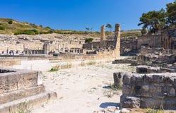 Ancient Kamiros Rhodes Royalty Free Stock Image