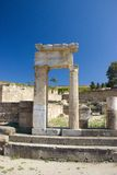 Ancient Kamiros Rhodos Greece architecture historic royalty free stock photo