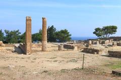 In ancient Kamiros Stock Photos