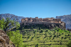 Ancient Kasbah in the south Morocco Royalty Free Stock Photo