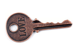 Ancient Key. Royalty Free Stock Photography