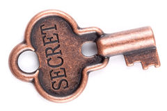 Ancient Key. Royalty Free Stock Image