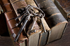 Ancient keys Stock Image