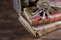 Ancient keys Stock Photography