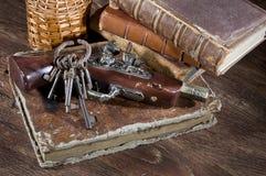 Ancient keys Royalty Free Stock Image