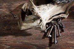 Ancient keys Stock Photo