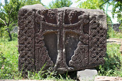 Ancient Khachkar Royalty Free Stock Photos