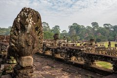 Baphuon temple at Angkor Wat complex, Siem Reap, Cambodia royalty free stock image
