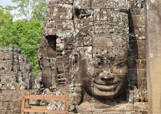 Ancient Khmer architecture for restoration Stock Images