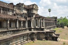 Ancient Khmer building Royalty Free Stock Photos