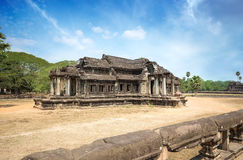 Ancient khmer building Stock Photo