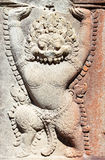 Ancient khmer carving Stock Images